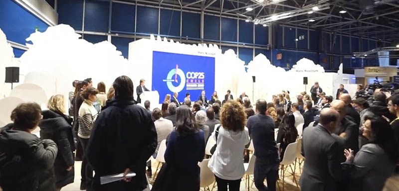 Vivat International at COP25 in Madrid